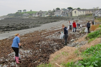 Killough beach clean 2015
