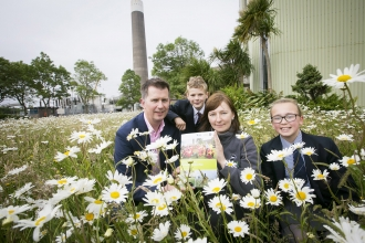 Launch of AES Biodiversity Action Plan at Kilroot