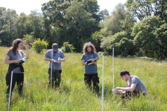 Trainees will learn to id wildlife with help from experts as part of programme