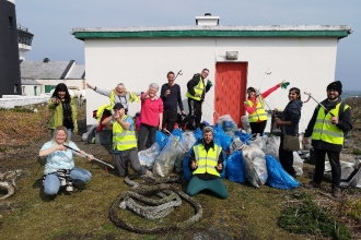 50 bags of litter collected!