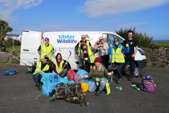 Donaghadee clean up crew