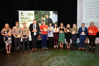 Winners of Young Environmental Leader Awards