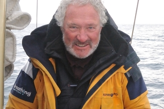 Brian Black on his Artic voyage