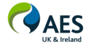 AES UK & Ireland logo