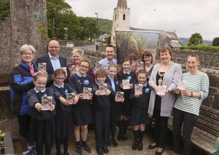 Pupils help launch Glenarm Wildlife Guide